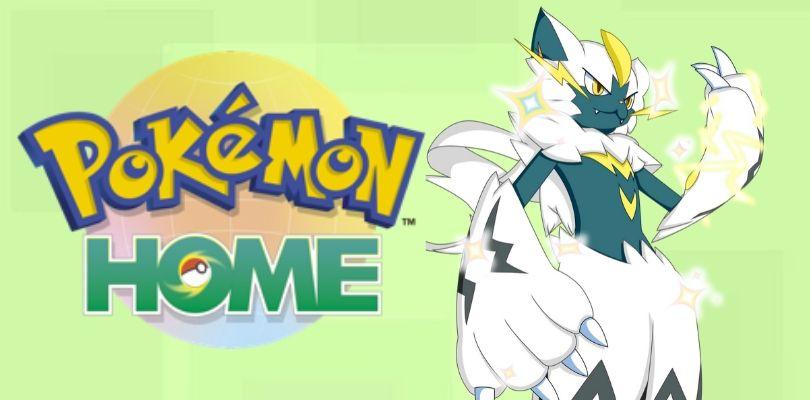 Zeraora cromatico è ora disponibile come dono su Pokémon HOME