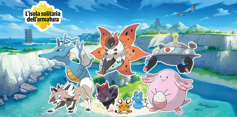 Pokémon nell'Isola dell'Armatura
