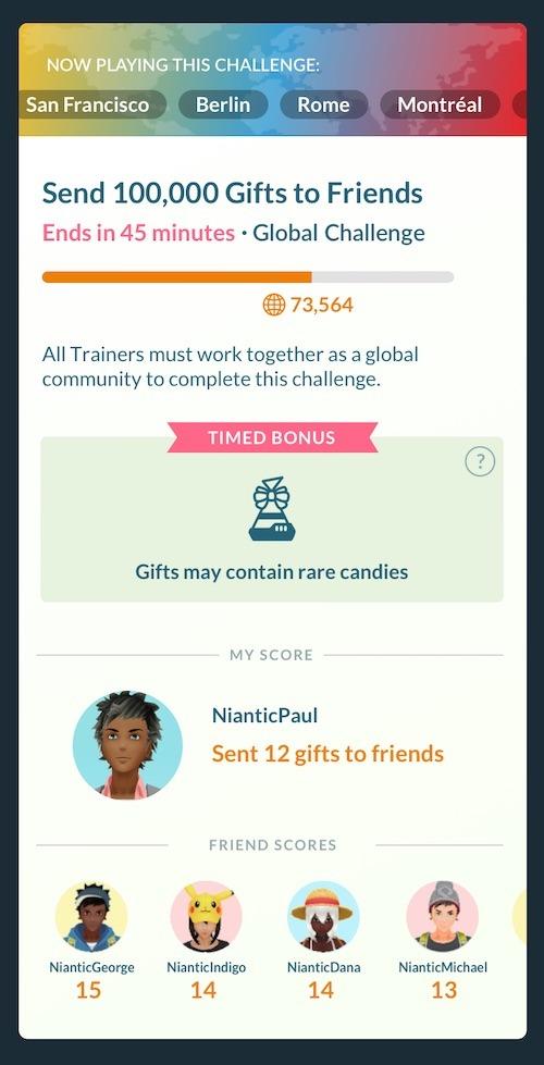 sfida globale Pokémon GO Fest 2020