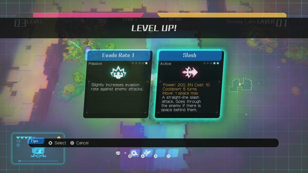 Void Terrarium aumento di livello