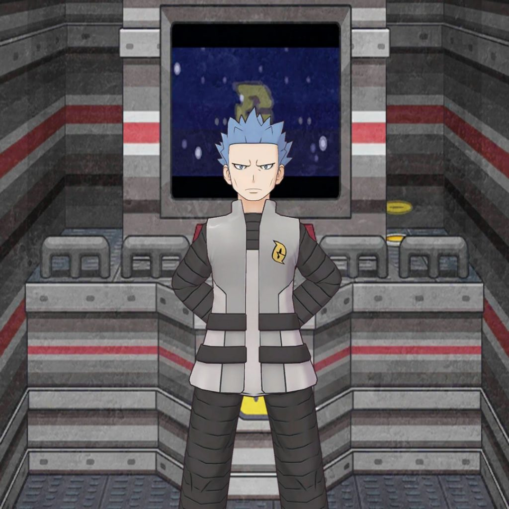 Cyrus costituirà un'Unità con Palkia.