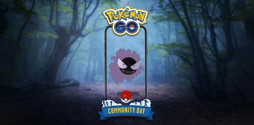 Gastly Pokémon GO Community Day
