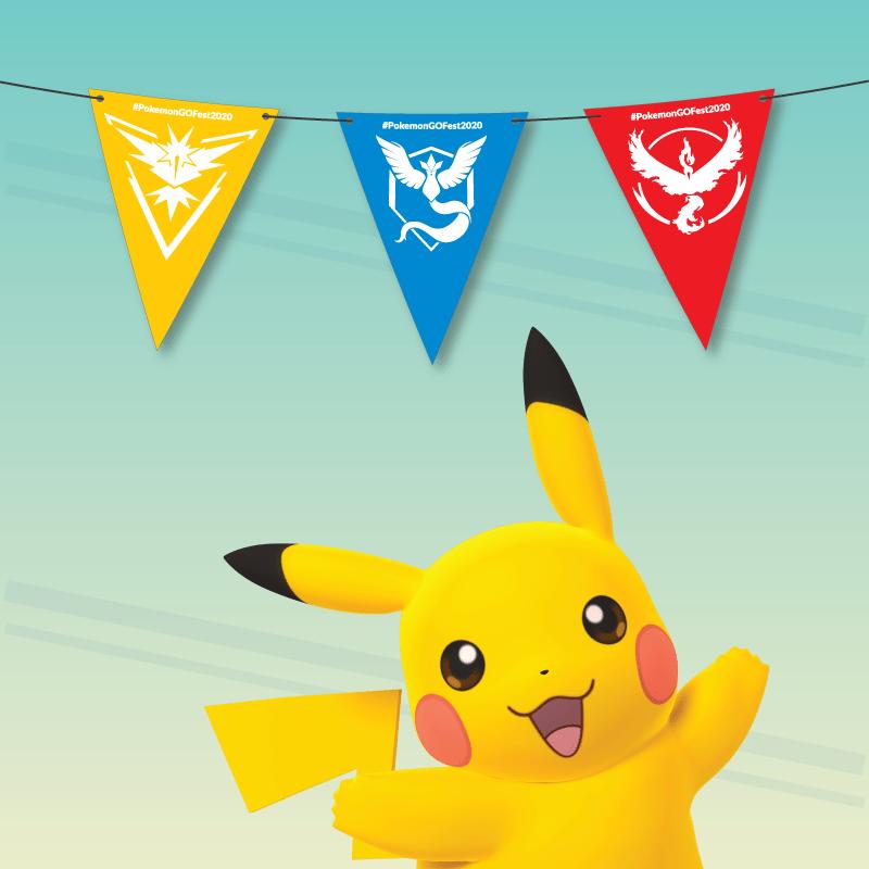 Pokémon GO Fest kit