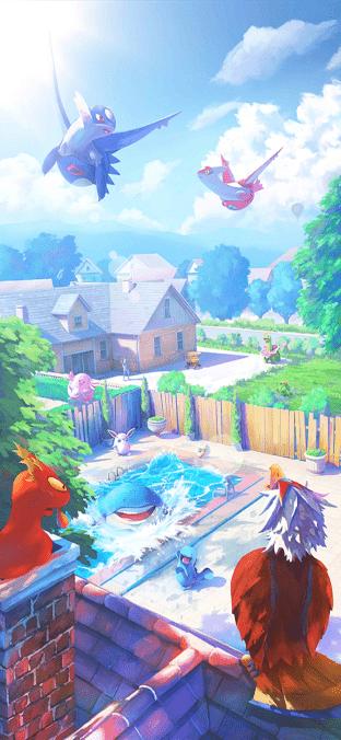 Pokémon GO schermata caricamento luglio 2020