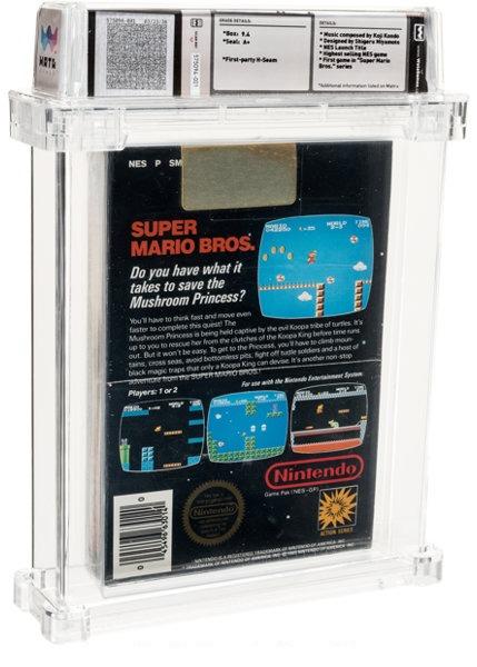 Super Mario Bros. record