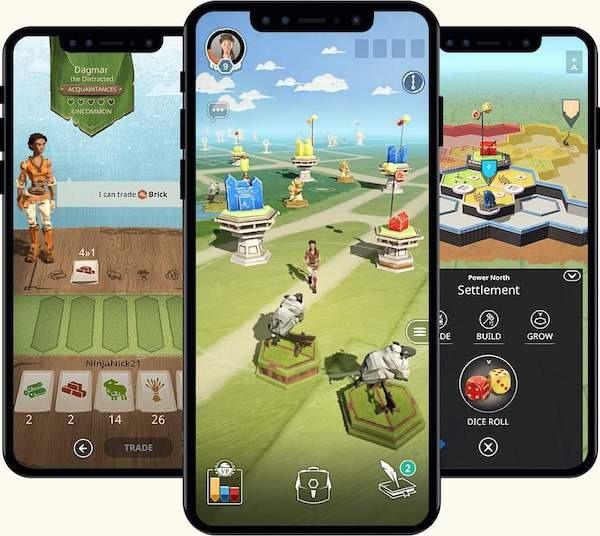 catan world explorers schermata