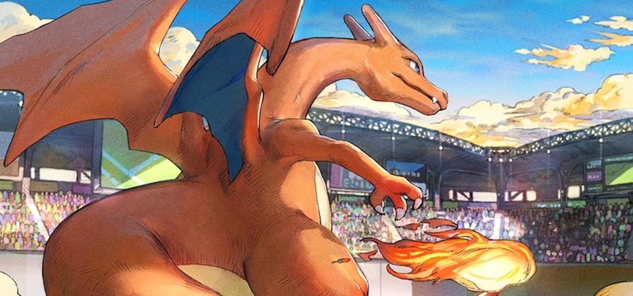 Il Charizard che ha vinto il Contest di Illustrazioni 2020 è diventato una carta promo