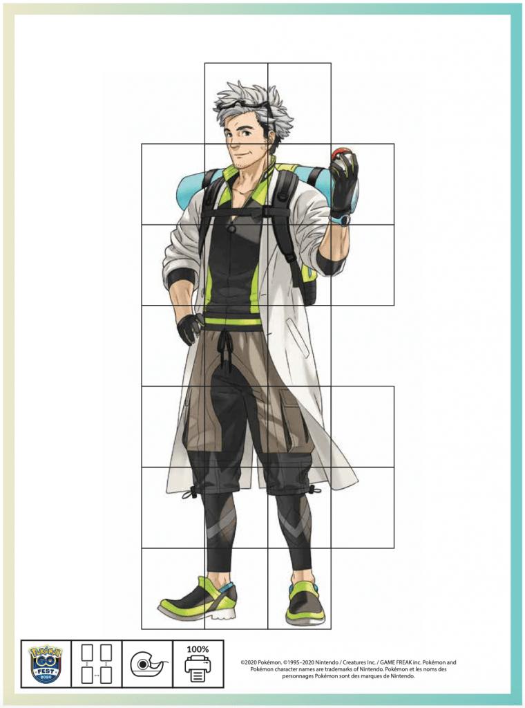 Pokémon GO Fest 2020 kit Professor Willow
