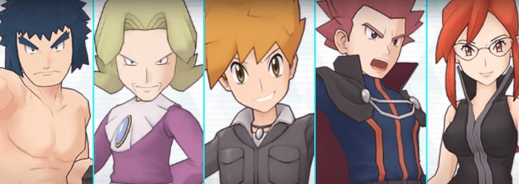 La Lega Pokémon sbarca in Pokémon Masters EX