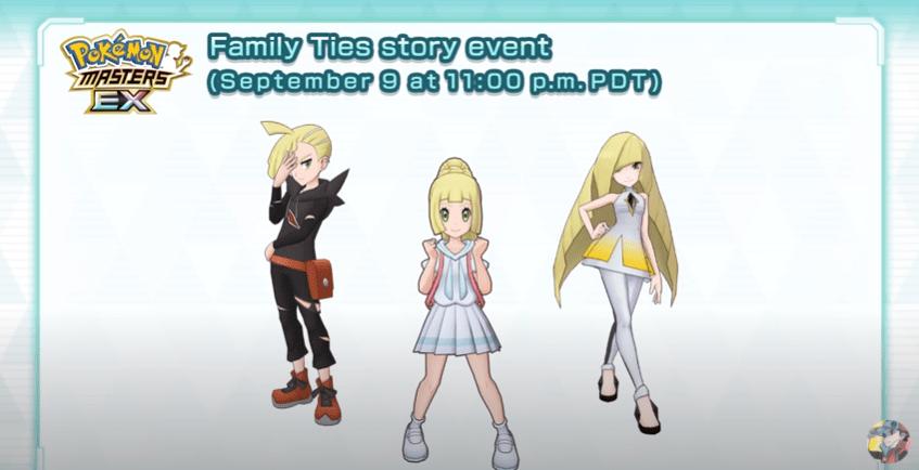 Uniti in famiglia sarà il prossimo evento di Pokémon Masters