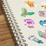 Adesivi Pokémon GO