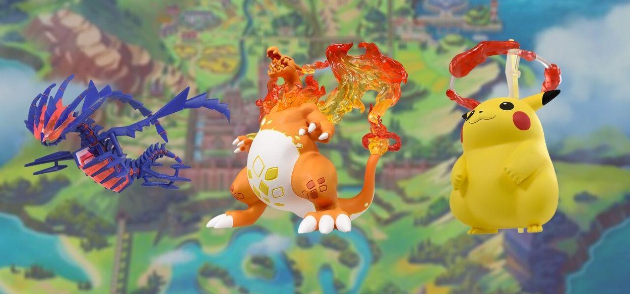 Annunciate le nuove statuine di Eternatus, Pikachu Gigamax e Charizard Gigamax