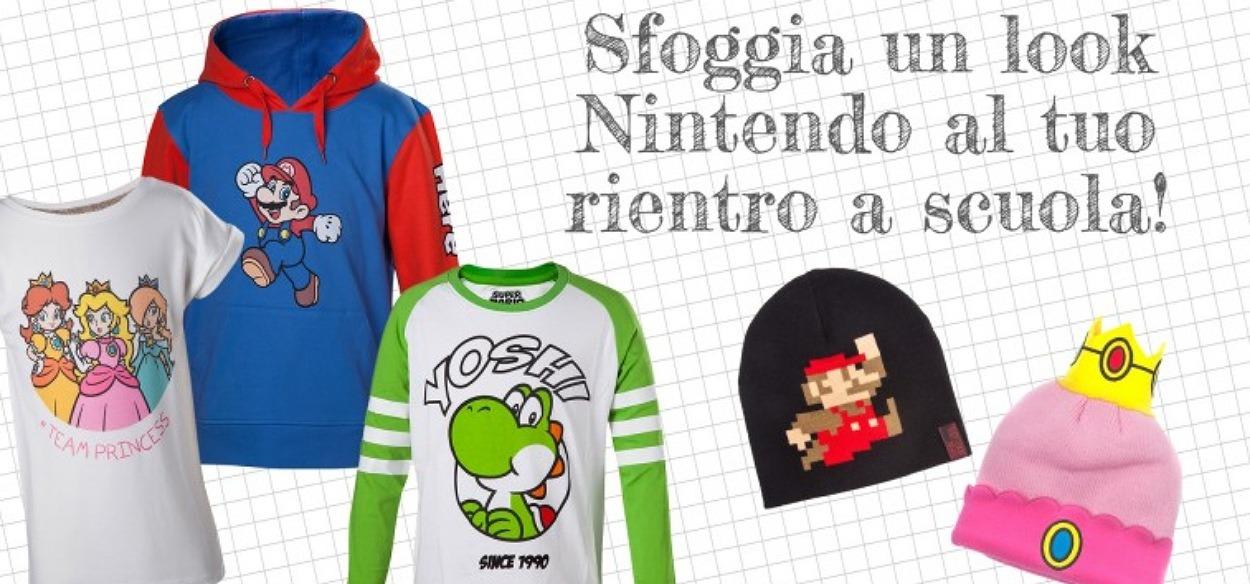 Tanti prodotti per la scuola disponibili sul My Nintendo Store
