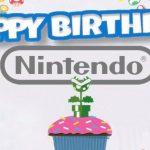 Compleanno Nintendo