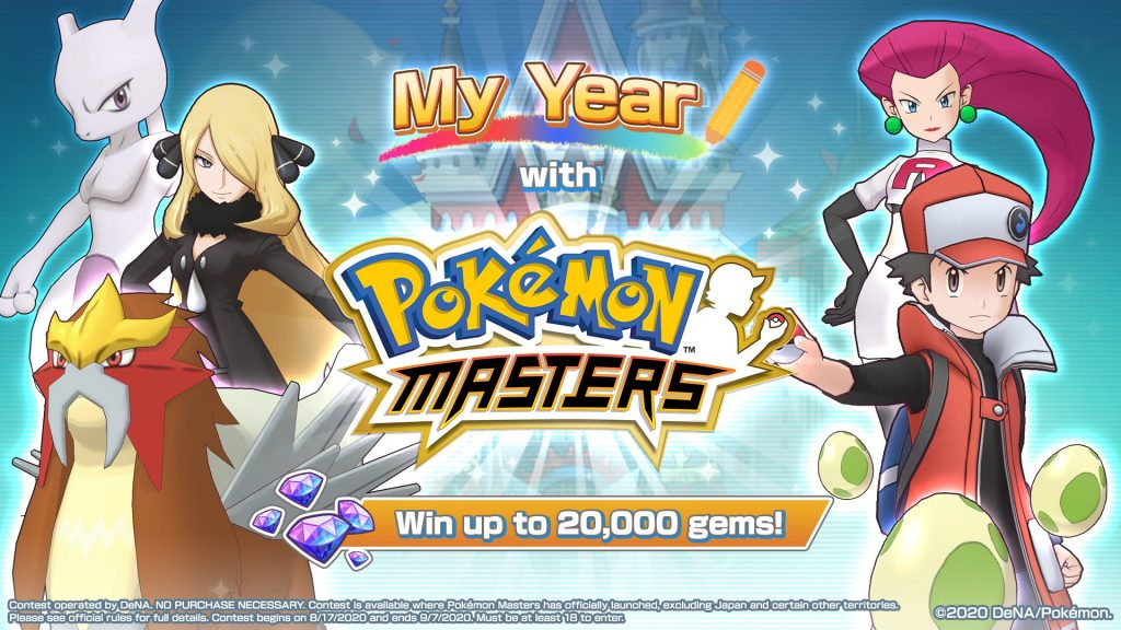 My Year with Pokémon Masters