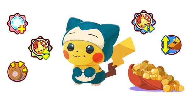 Pikachu Snorlax