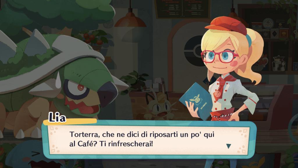 Torterra è arrivato al bistrot di Pokémon Café Mix