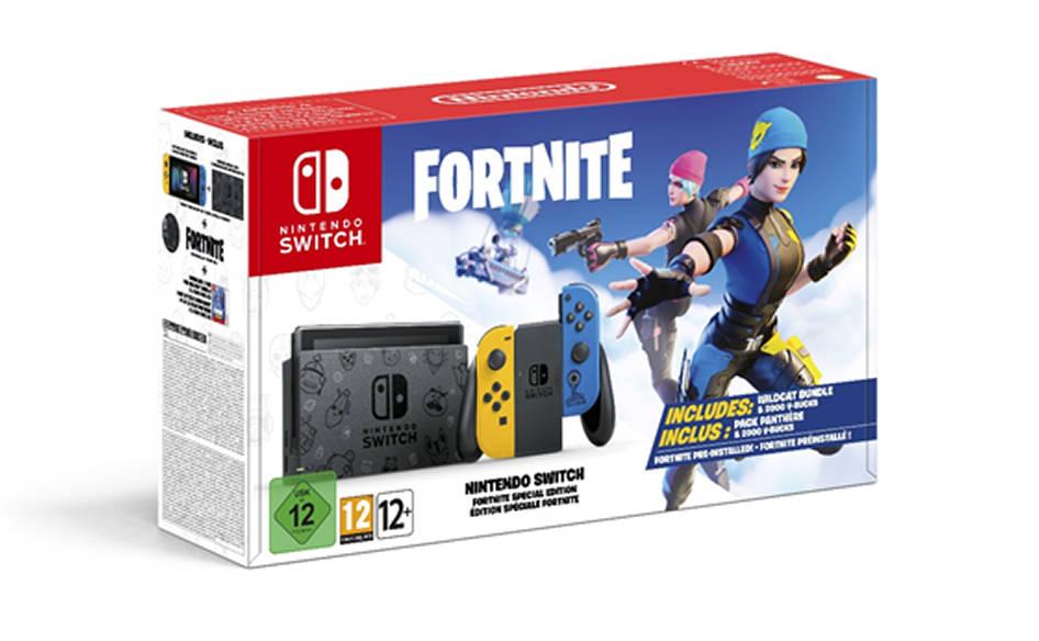 Bundle Nintendo Switch Fortnite