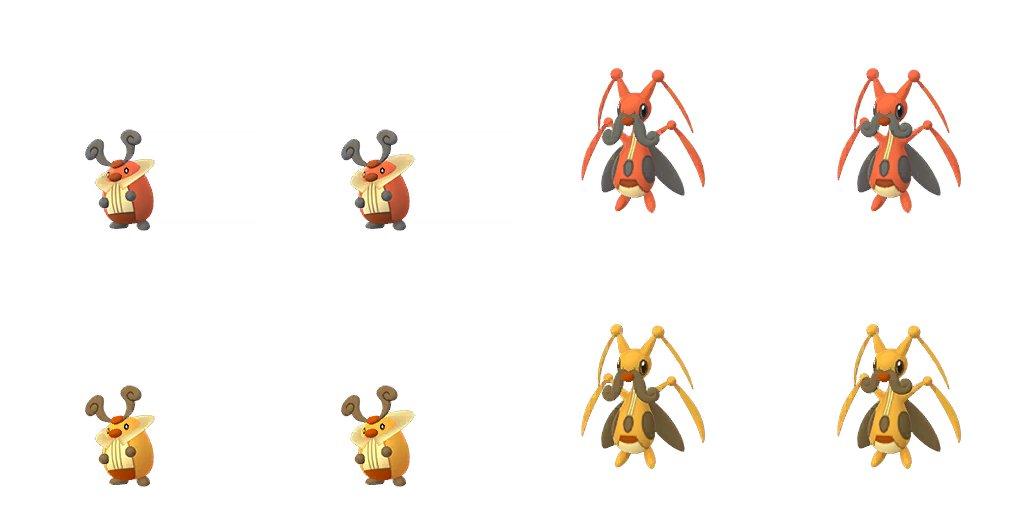 Pokémon GO cromatici