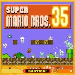 Super Mario Bros. 35 platform battle royale