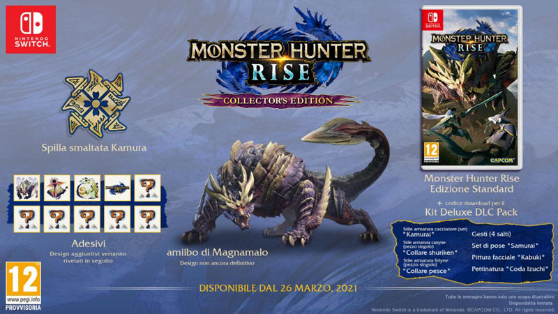 Collector's Monster Hunter Rise