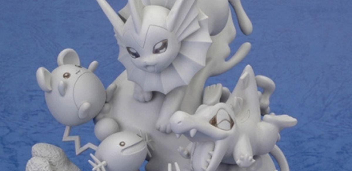 I Pokémon acquatici guizzeranno felici nella nuova figure G.E.M. EX di MegaHouse