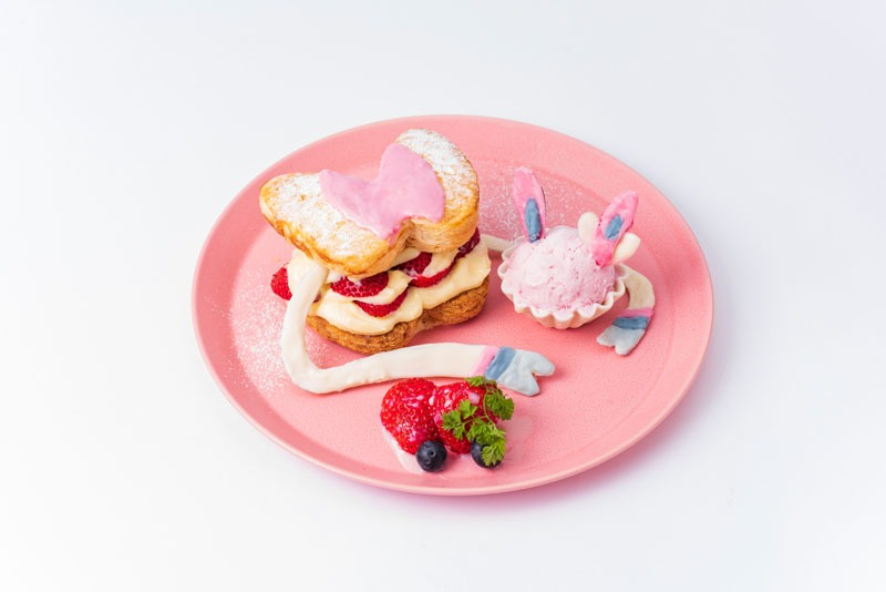 Pokémon Café Mix piatti