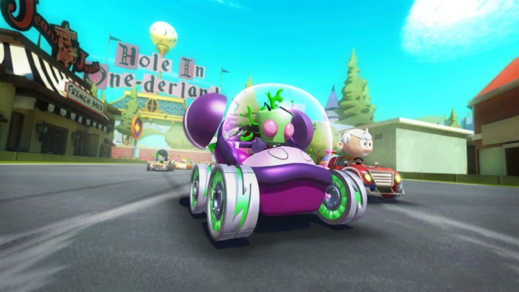 scena Nickelodeon Kart Racers 2 Grand Prix