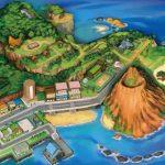 mappa beta Mele Mele Pokémon Sole Luna