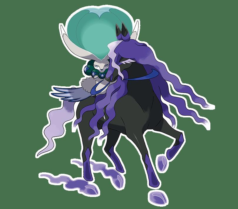 Calyrex Cavaliere Spettrale