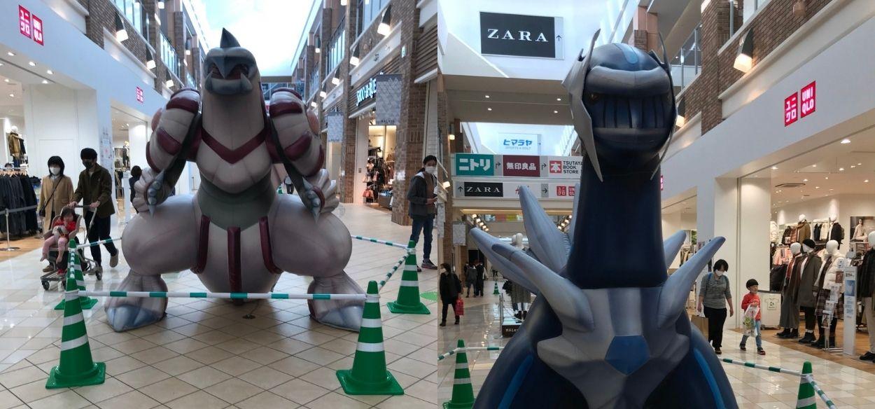 Avvistate le statue di Dialga e Palkia in Giappone: Sinnoh confirmed?