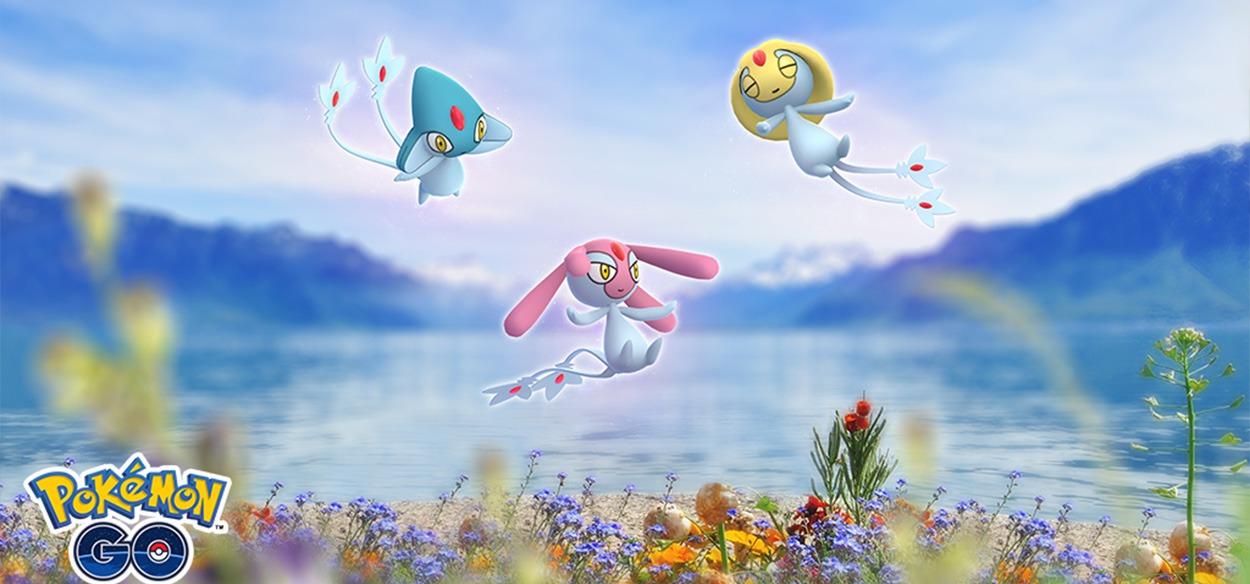 Uxie, Mesprit e Azelf faranno ritorno nei raid di Pokémon GO