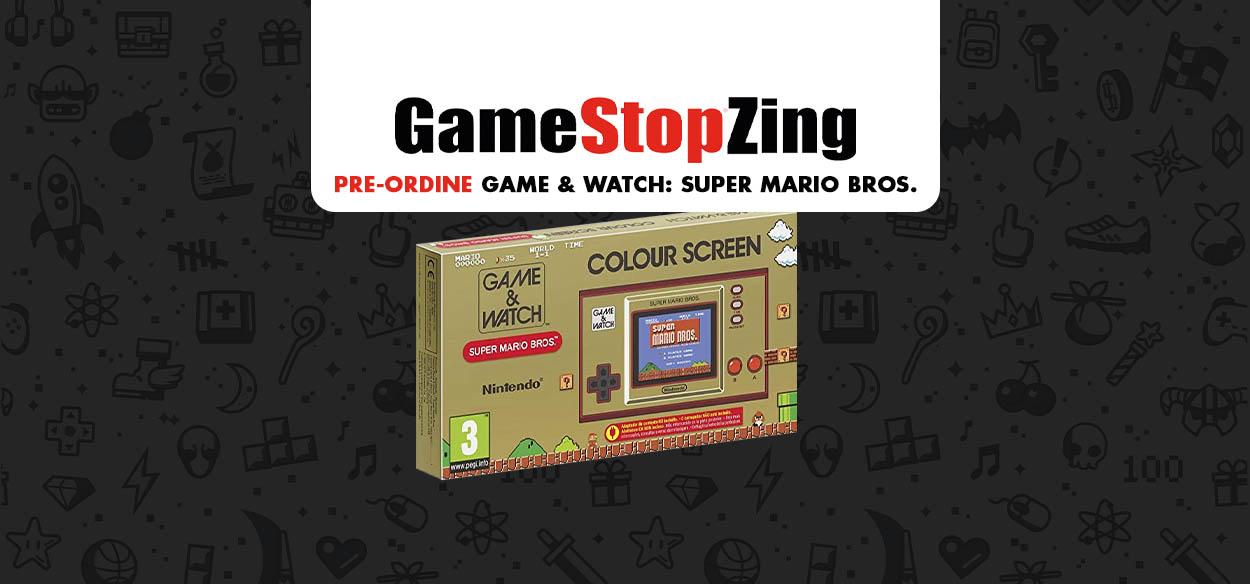 Game&Watch: Super Mario Bros. disponibile in pre-ordine da GameStopZing
