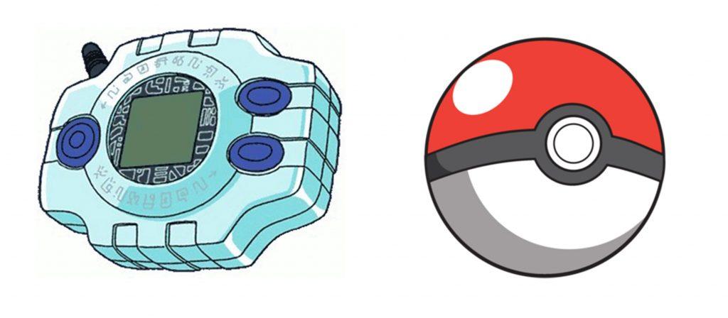 Digimon Pokémon