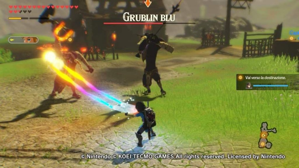 Combattimento in Hyrule Warriors