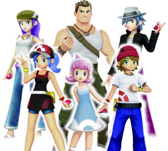 personaggi pokémon battle revolution