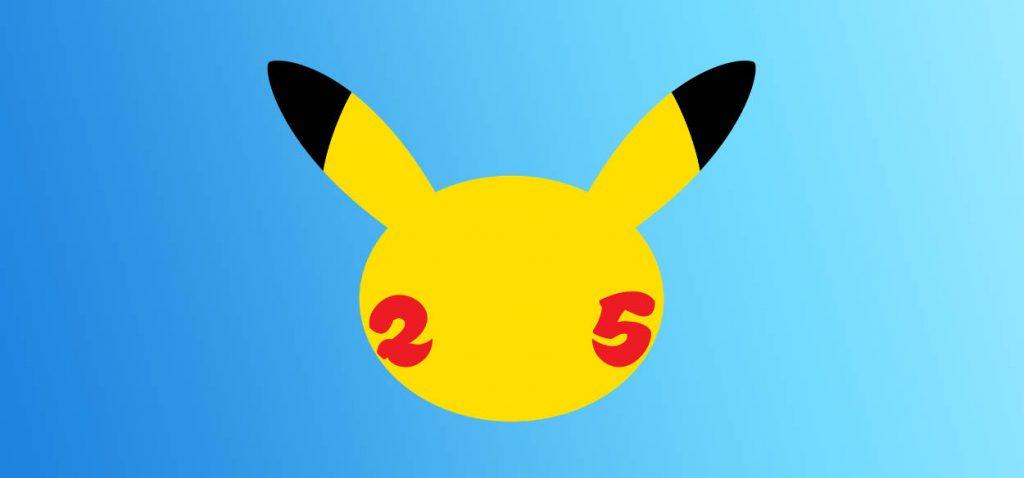 Pokémon 25 anniversario logo