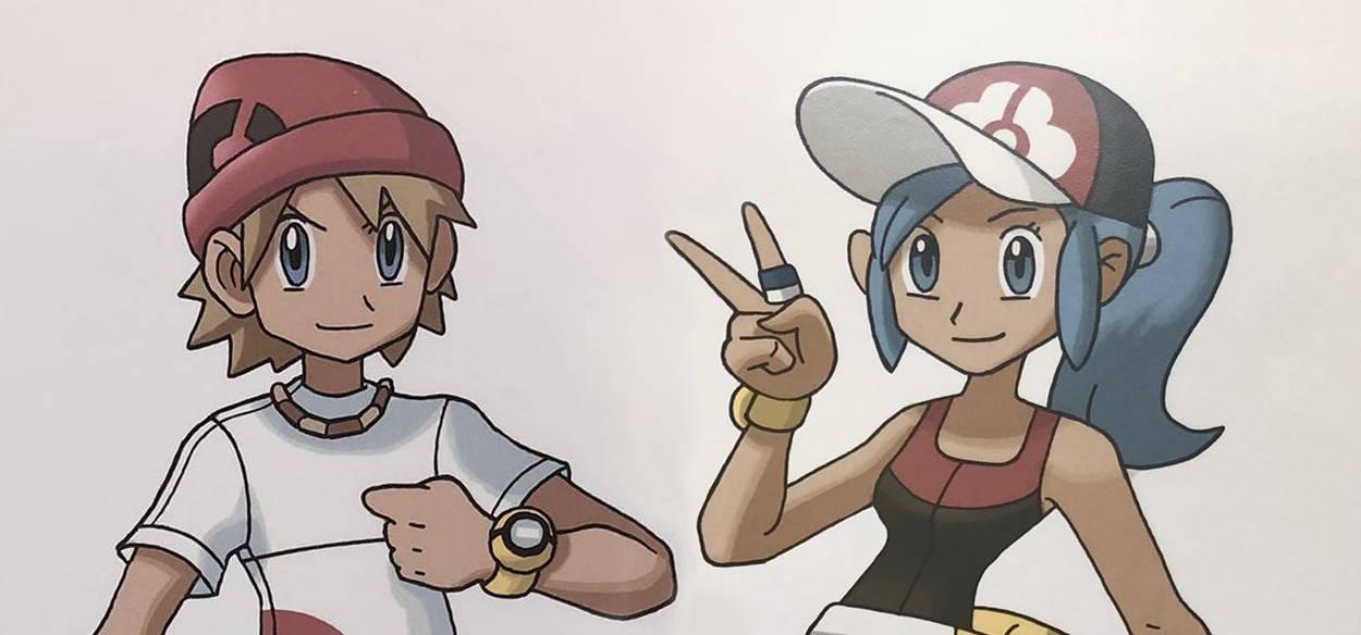 James Turner mostra i disegni originali dei personaggi di Pokémon Battle Revolution