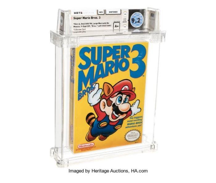 Cartuccia di Super Mario venduta a 130mila euro
