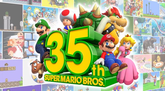 Nel 2020 Super Mario ha compiuto 35 anni