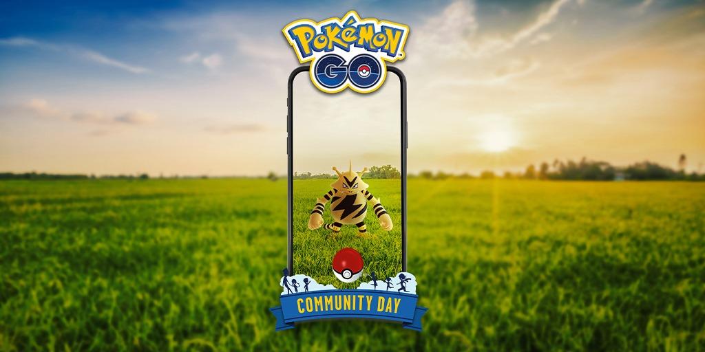 Electabuzz Community Day