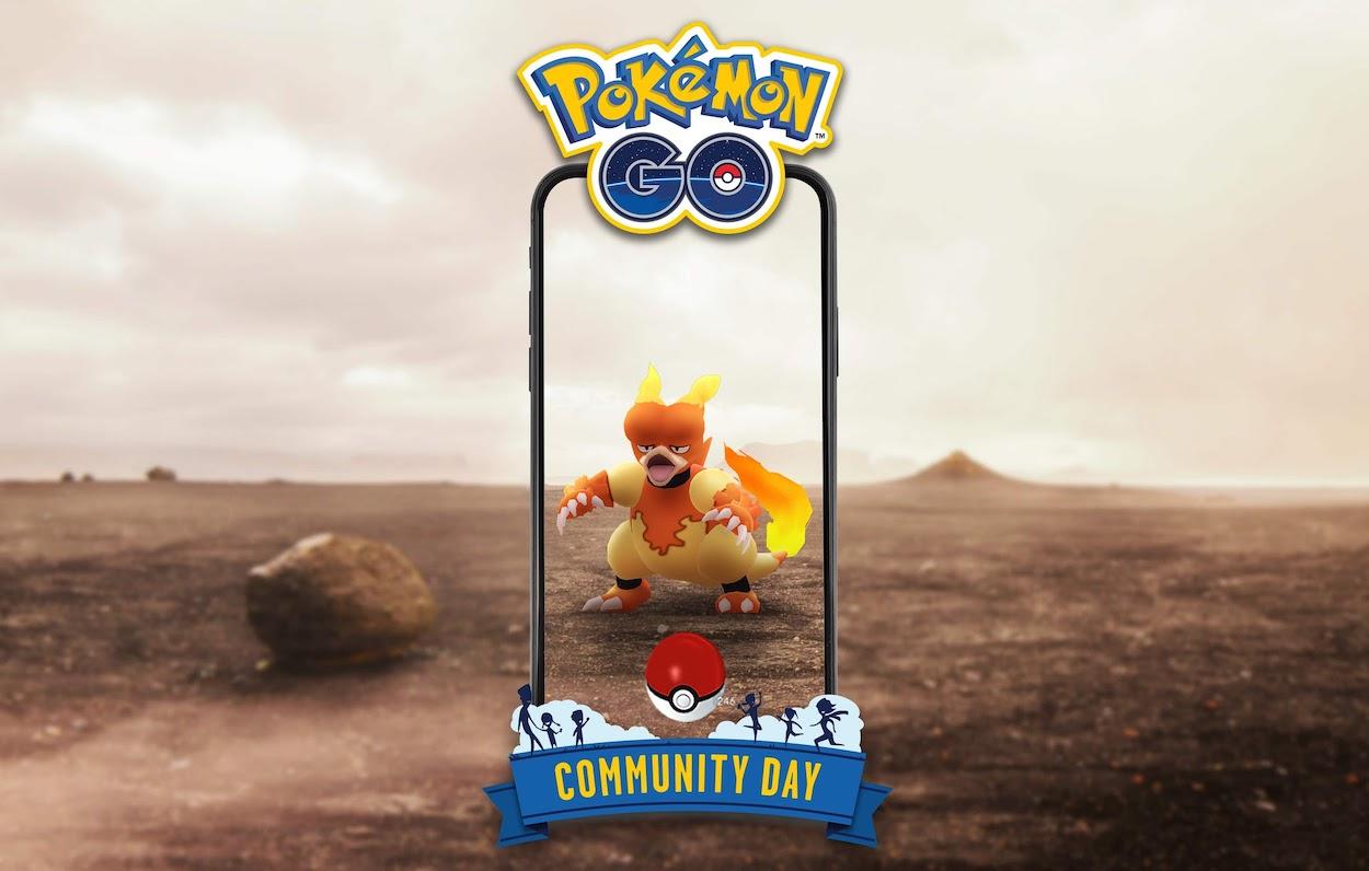 Magmar Community Day