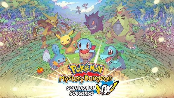 marzo 2020: torna Pokémon MysterY Dungeon su Nintendo Switch