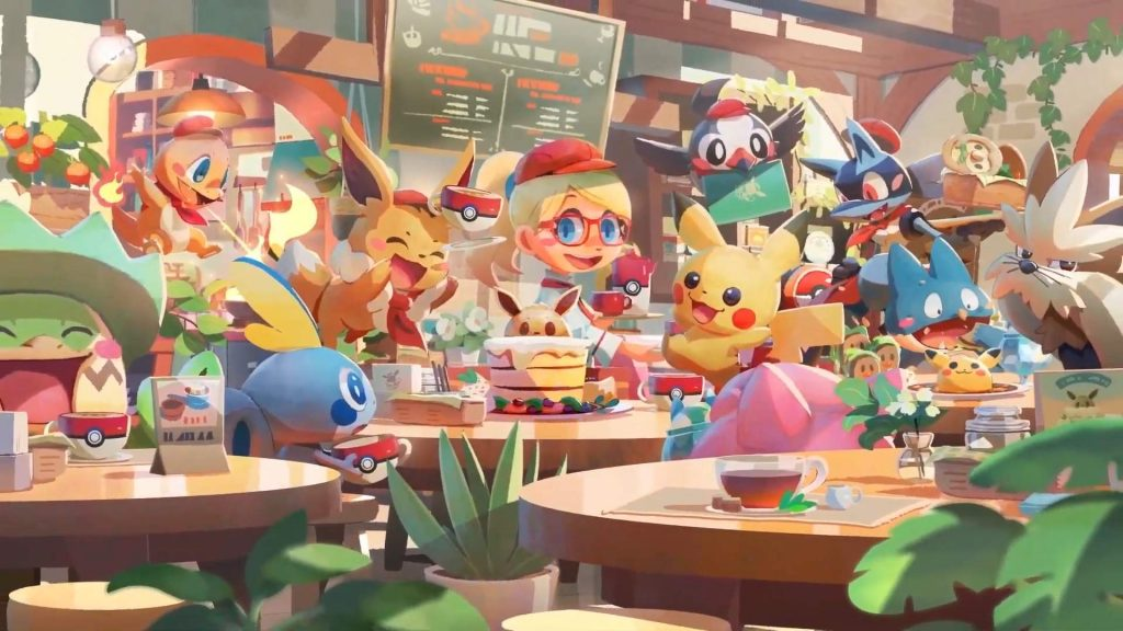 Chansey amplierà lo staff di Pokémon Café Mix