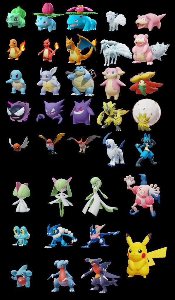 Datamine Pokémon Unite