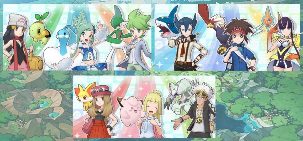 Unicerche di fine anno su Pokémon Masters EX