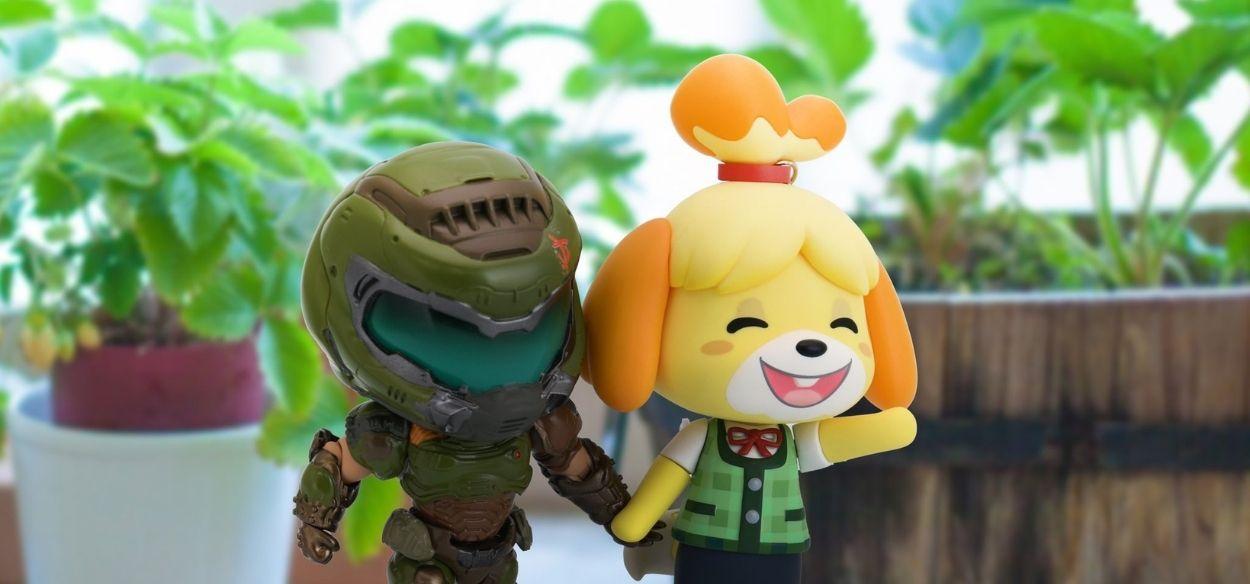 Doom Guy e Fuffi uniti ufficialmente da Bethesda