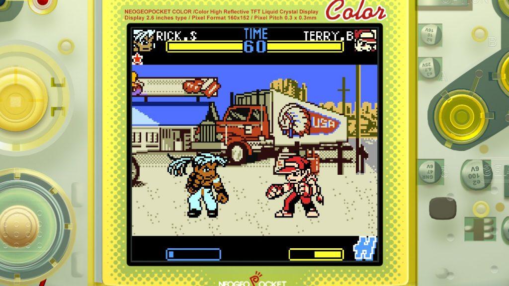 Fatal Fury First Contact su NeoGeo Pocket