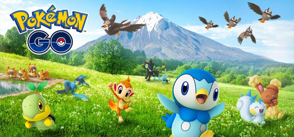 Pokémon GO: annunciati i festeggiamenti per la regione di Sinnoh