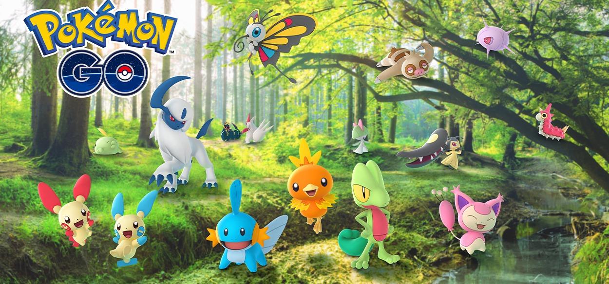 Pokémon GO festeggia la regione di Hoenn con un evento dedicato